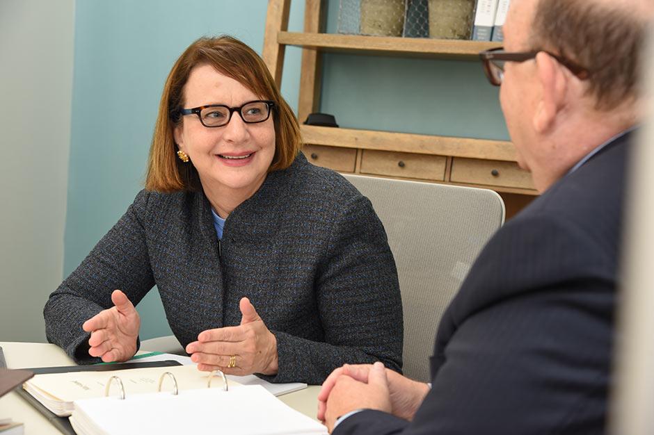 Steve and Julie in Meeting